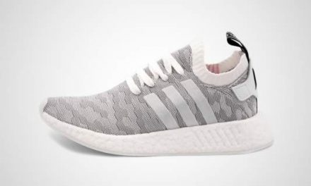 adidas NMD_R2 PK W (Wit/rosa) Sneaker