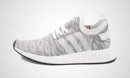 adidas NMD_R2 PK (Wit/Oranje) Sneaker