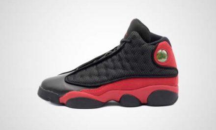 "Nike Air Jordan XIII Retro GS ""Bred"" Sneaker"