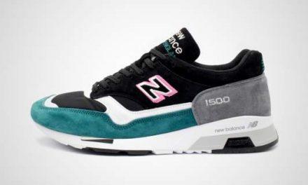 "M1500KFG ""Flamingo"" (Zwart/Groen) Sneaker"