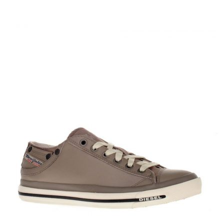 Diesel leren sneakers (bruin)