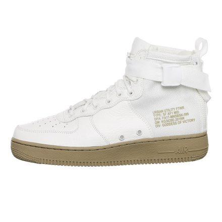 Nike SF Air Force 1 Mid (wit/groen)