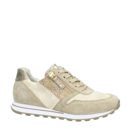 Gabor suède sneakers (bruin)