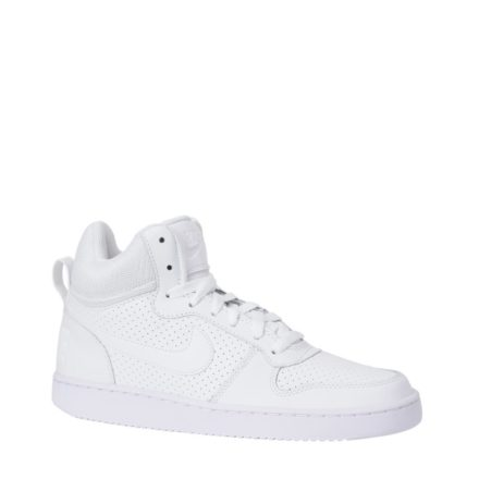 Nike Court Borough mid sneakers (wit)