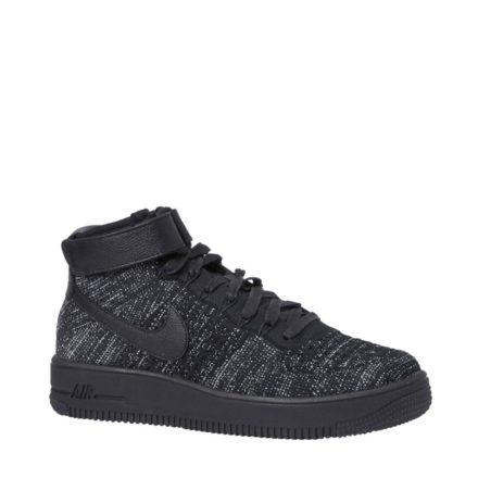 Nike Air Force 1 Flyknit sneakers (zwart)