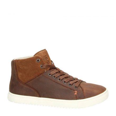 Hub nubuck sneakers (bruin)