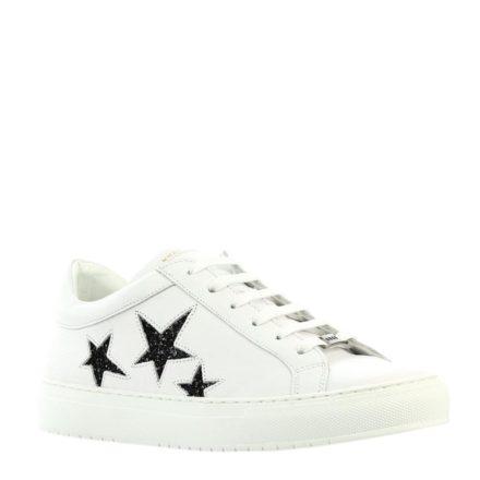 Nubikk Julia Galaxy leren sneakers (wit)
