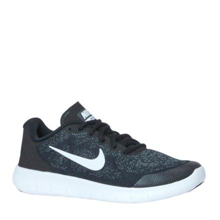 Nike Free RN 2017 sneakers jongens (zwart)