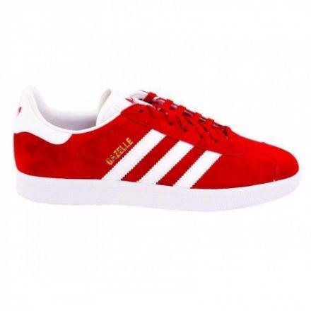 Adidas Originals Gazelle (rood/wit)