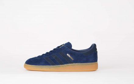 Adidas München Dark Blue/Collegiate Navy blauw/Gum 3