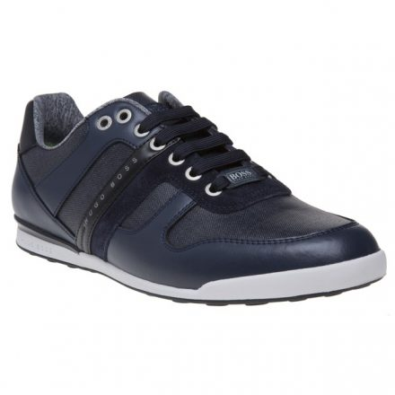 BOSS Green Arkansas Lowp Trainers (blauw/zwart)