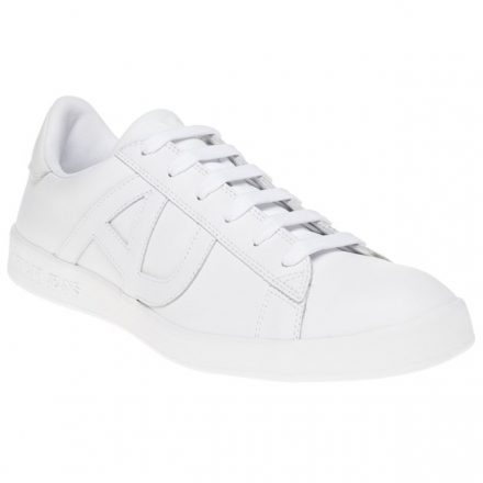 Armani Jeans Cup Sole II Trainers (wit)