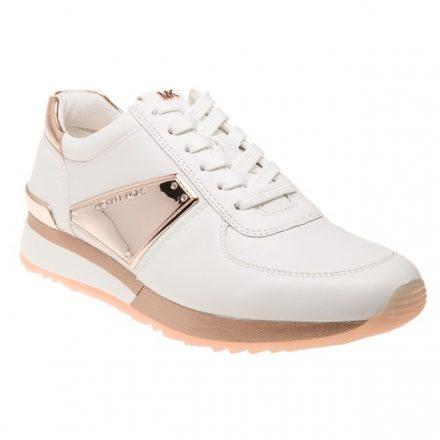 Michael Kors Allie Trainers (wit/roze/goud)