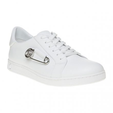 Versus Safety Pin Low Top Trainers (wit)