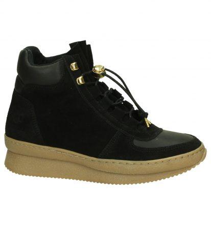 Zwarte Sneaker met Sleehak Post Xchange