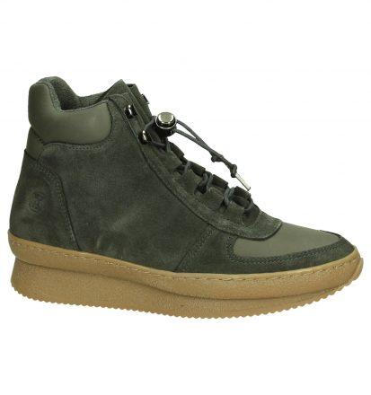 Grijze Sneaker met Sleehak Post Xchange