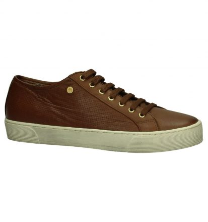 Cognac Veterschoenen River Woods Amor