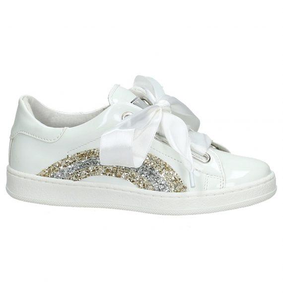 Sneaker Wit K3 met Glitter