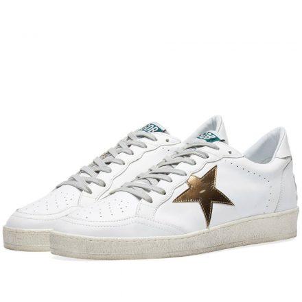 Golden Goose Deluxe Brand Ballstar Sneaker (White)