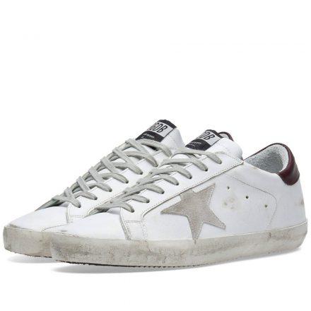 Golden Goose Deluxe Brand Superstar Leather Sneaker (White)