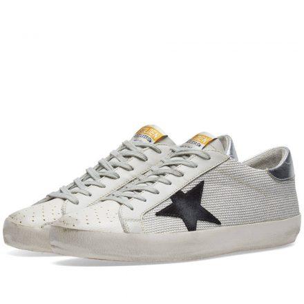 Golden Goose Deluxe Brand Superstar Mesh Sneaker (White)