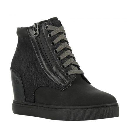 G-Star RAW Pristel Zip Wedge sneakers (zwart)