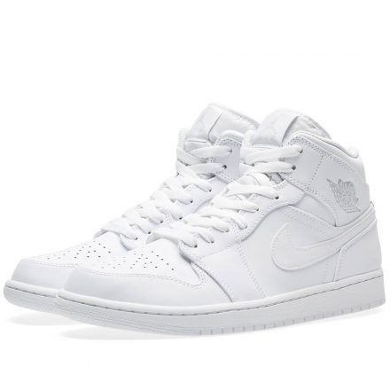 Nike Air Jordan 1 Mid (White)