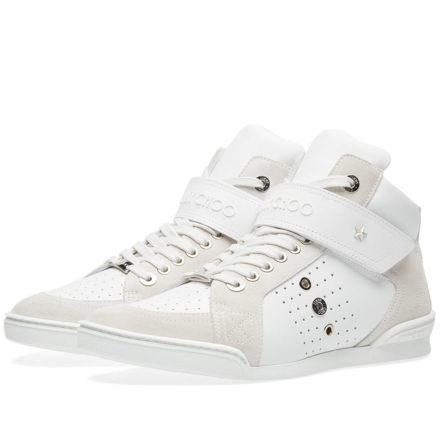 Jimmy Choo Lewis Sneaker (White)