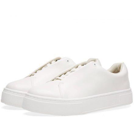 Eytys Doja Leather Sneaker (White)