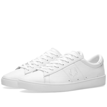 Fred Perry Spencer Leather Sneaker (White)