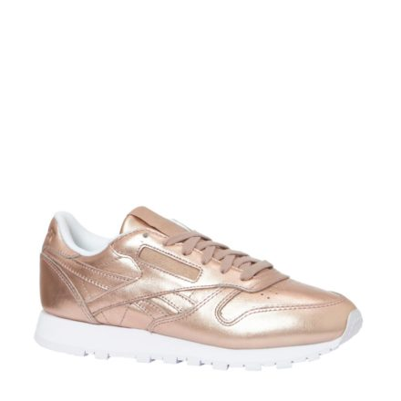 Reebok CL Leather Melted Metal sneakers (roze)