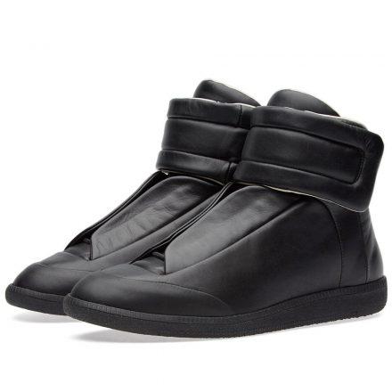 Maison Margiela 22 Future High Tonal Sneaker (Black)