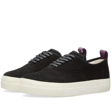 Eytys Mother Suede Sneaker (Black)