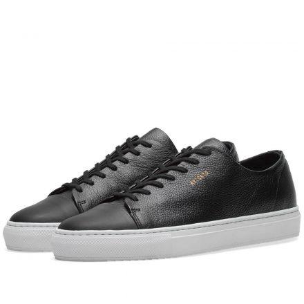 Axel Arigato Toe Cap Sneaker (Black)