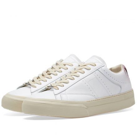 Maison Margiela 22 Ace Low Vintage Sneaker (White)