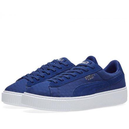 Puma Women's Basket Platform DE (Blue)