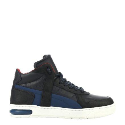 Hip leren sneakers jongens (blauw)