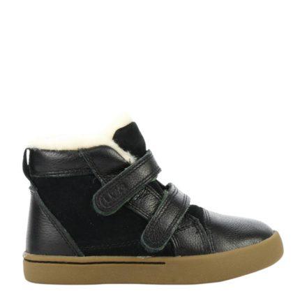 UGG leren sneakers kids (zwart)