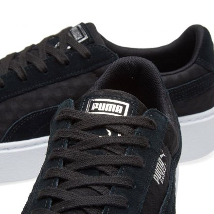 Puma Women's Basket Platform DE (Black)