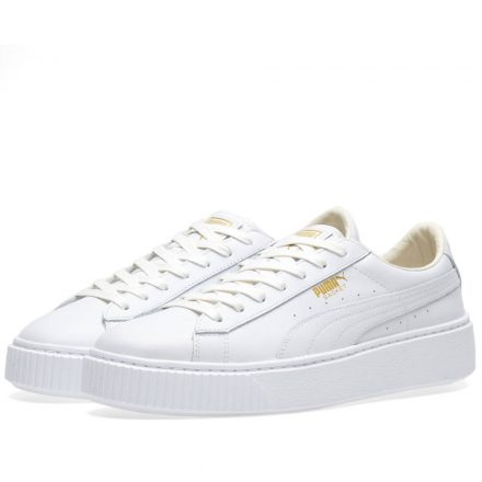 Puma Women's Basket Platform Core (White)