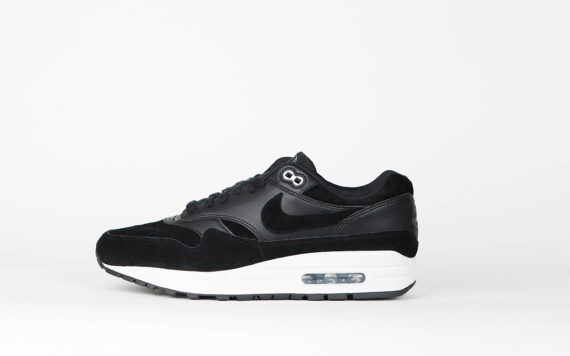 Nike Air Max 1 Premium 'Rebel Skulls Pack' Black/Chrome Off White