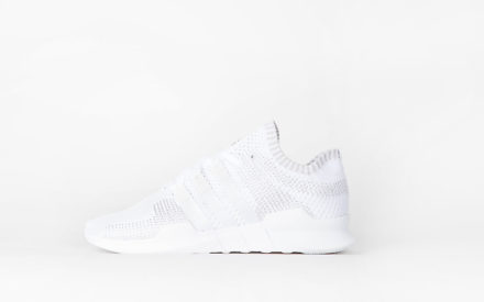 Adidas Equipment Support ADV Primeknit Footwear White/Footwear White/Sub Green