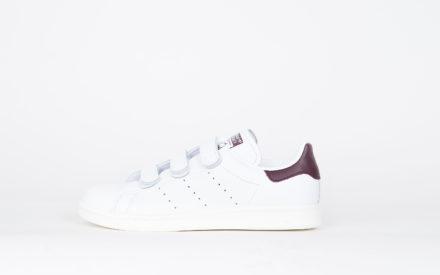 Adidas Stan Smith CF Footwear White/Dark Bordeaux roody/Off White