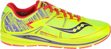 Saucony Fastwitch 7 (wit/geel)