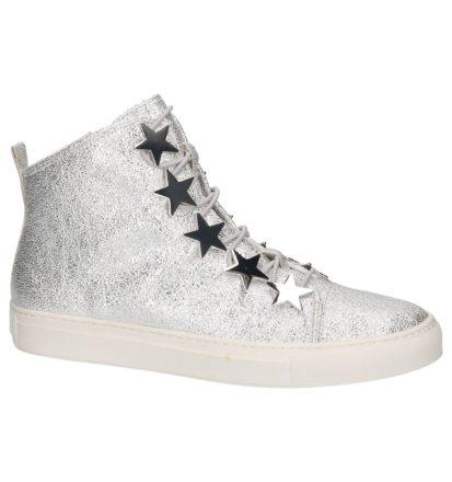 Zilveren Sneaker met Sterren Katy Perry The Astrea