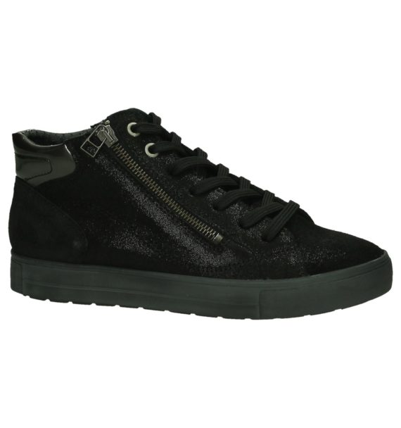 Zwarte Mirel Sneakers Hoog