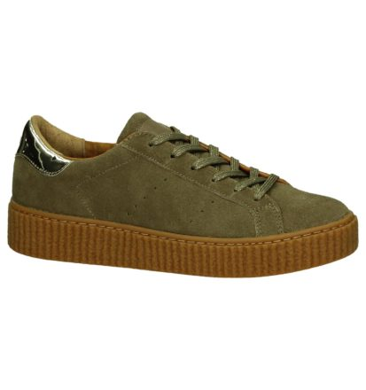 No Name Picadilly Beige Creeper Sneakers
