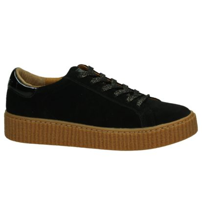 No Name Picadilly Zwarte Creeper Sneakers