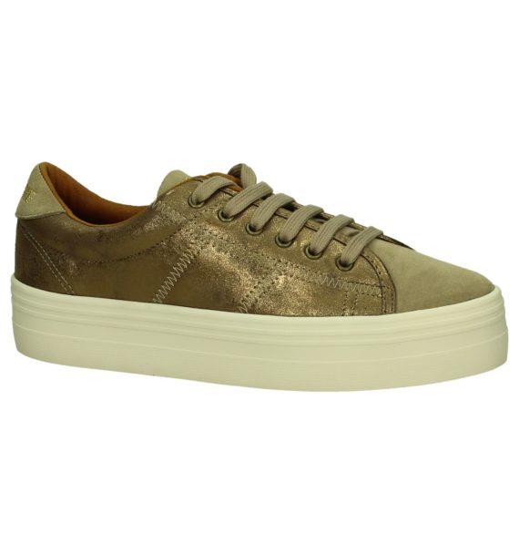 No Name Plato Sneaker Brons