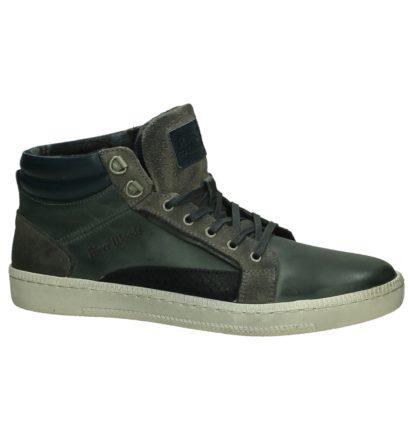 River Woods Bjorn Grijze Hoge Sneakers